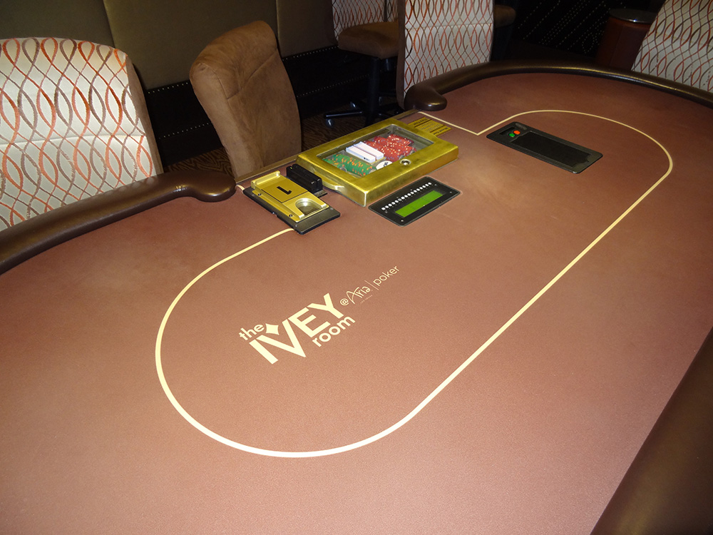 Poker Table, The Ivey Room, Las Vegas