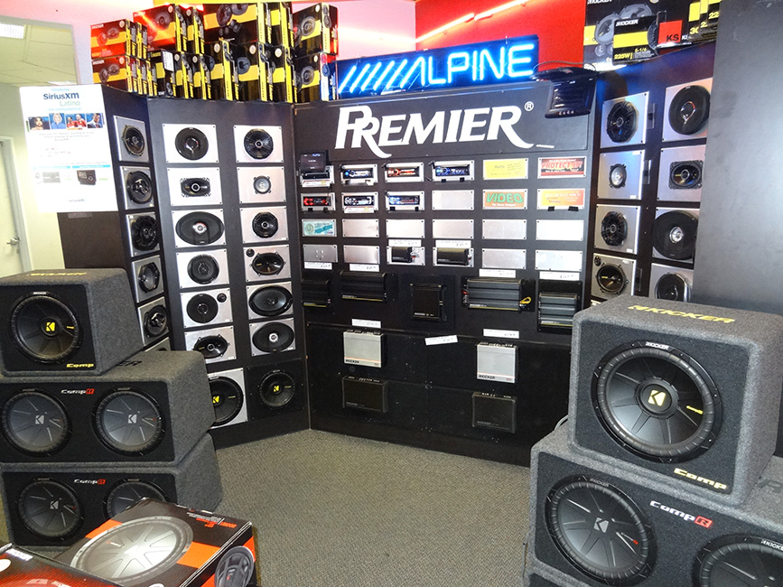 Alpine Premier Speakers and Equipment, Audio Express, Las Vegas