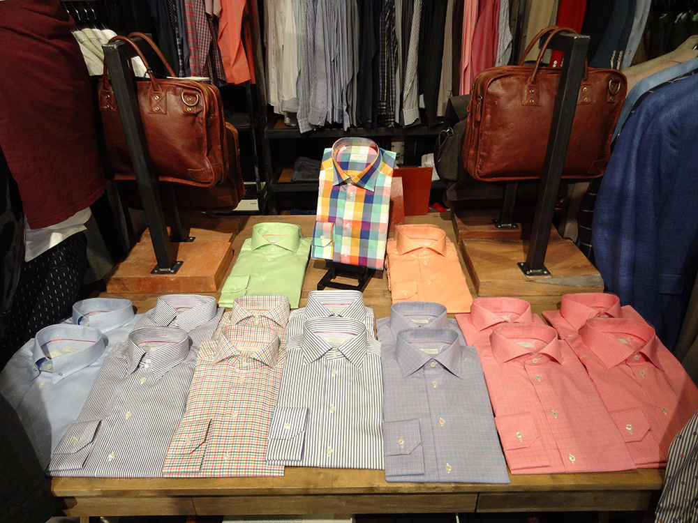 Shirts and Mens Bags, Stitched, Cosmopolitan Las Vegas