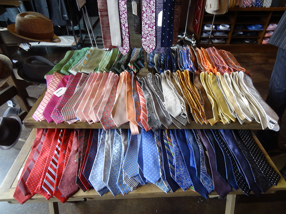 Tie Selection at STITCHED, Cosmopolitan, Las Vegas