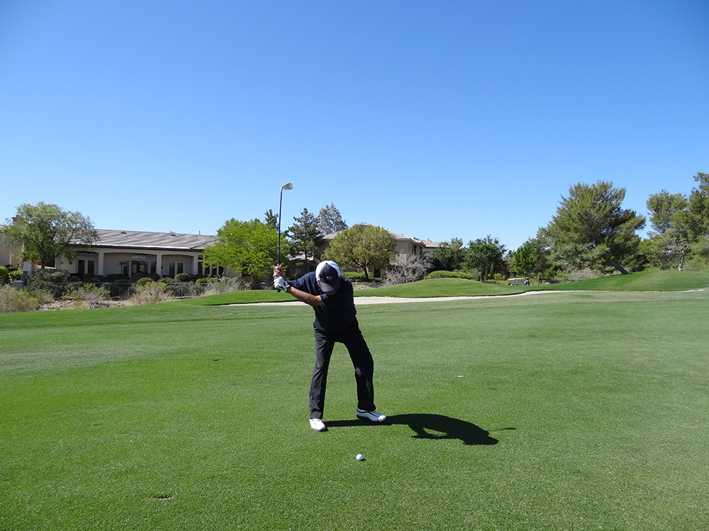 Badlands Golf Course, Partner Swinging, Las Vegas
