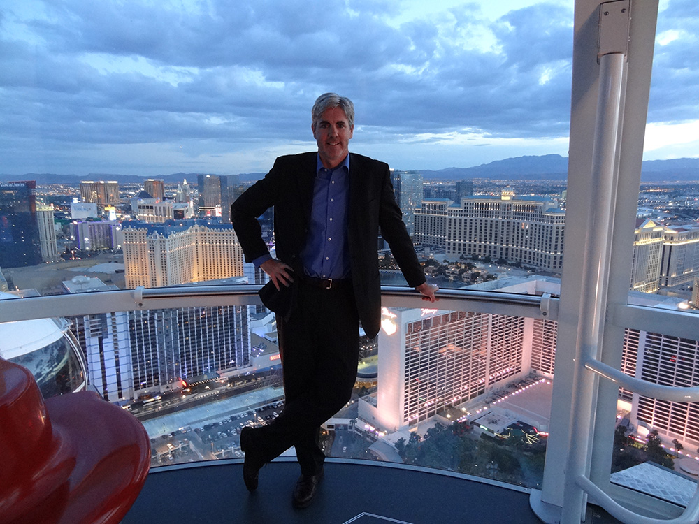 Brendan Magone on the High Roller, LINQ District, Las Vegas