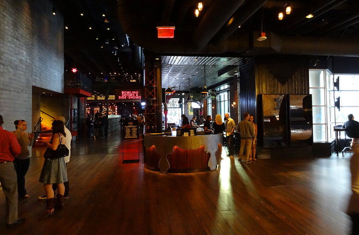 Brooklyn Bowl Interior, LINQ District, Las Vegas