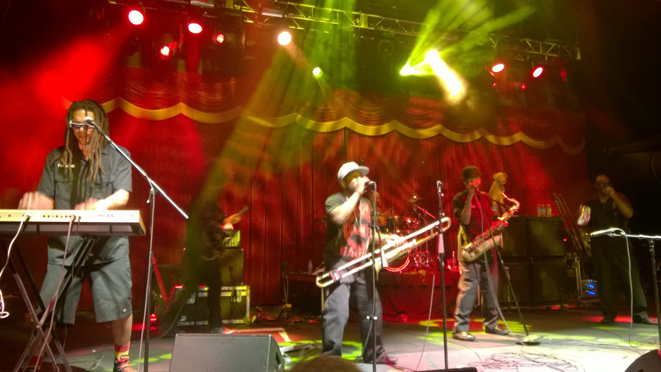 Brooklyn Bowl, Las Vegas, Fishbone Performing