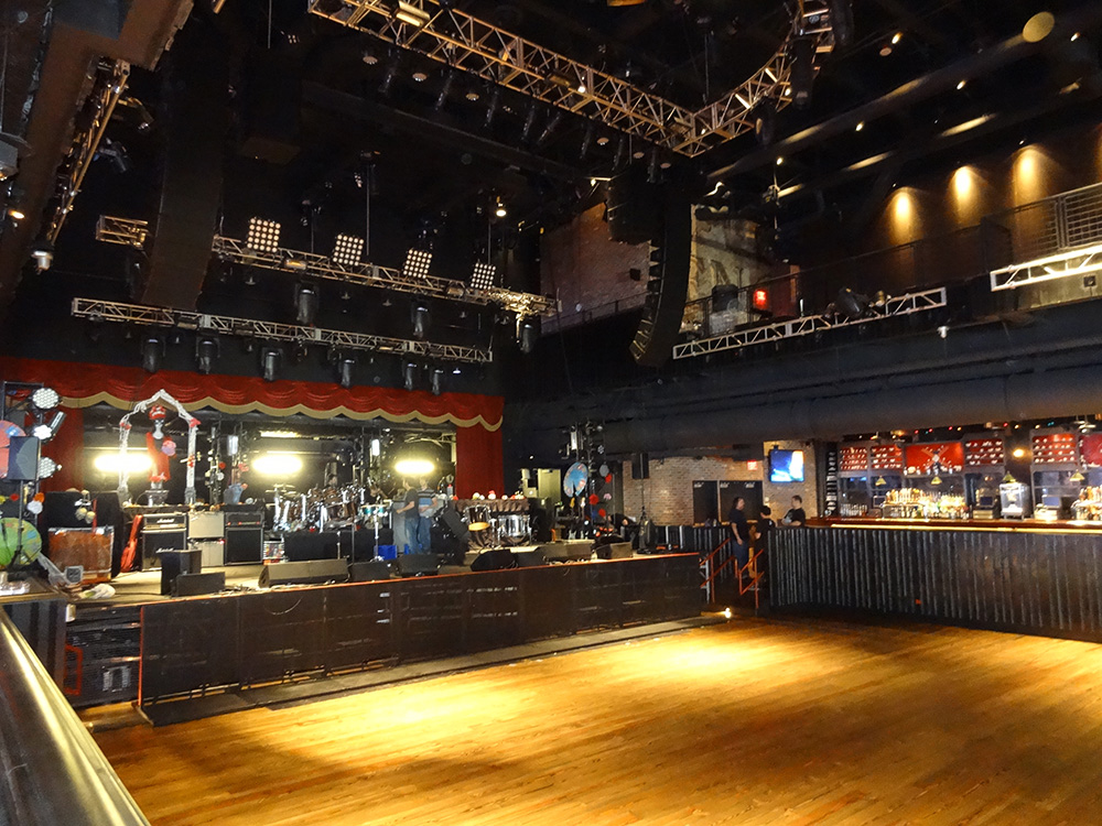 Brooklyn Bowl Stage, LINQ Area, Las Vegas