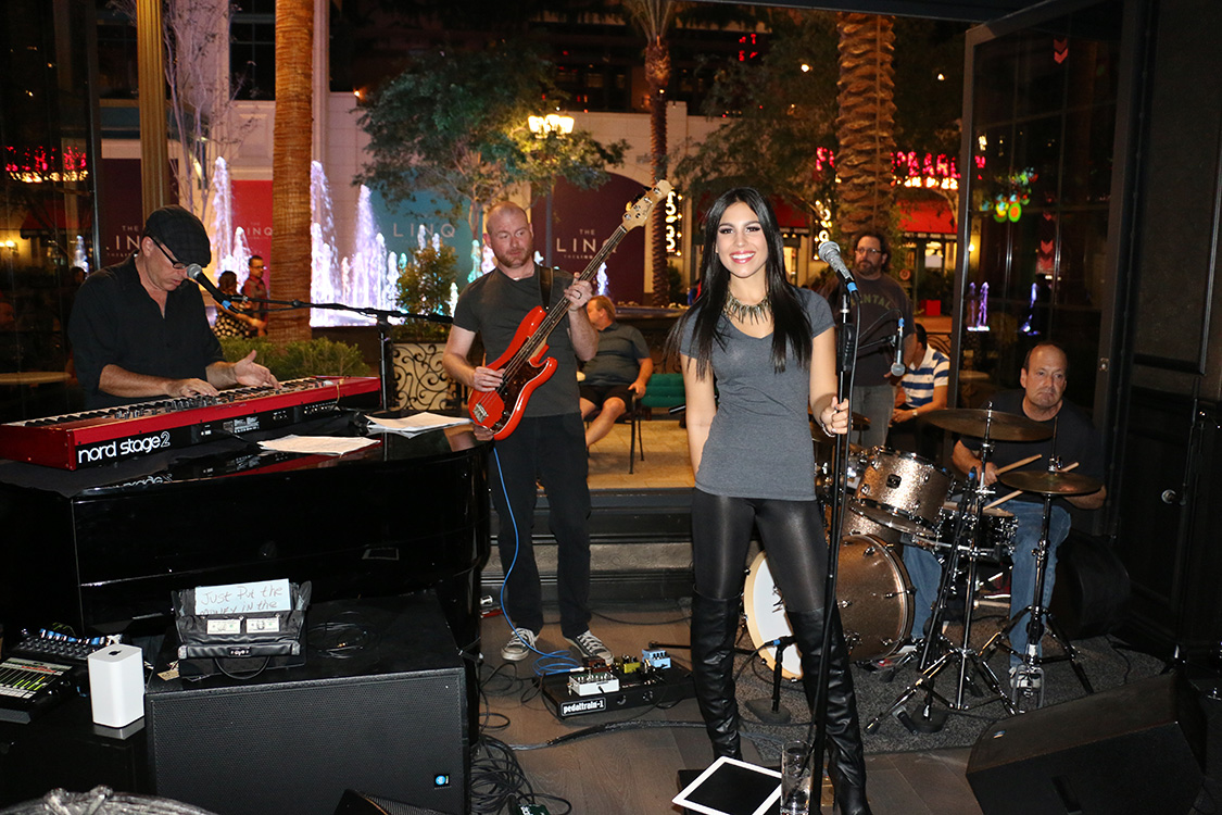 Christina Amato Band, BLVD Cocktail Company, Las Vegas