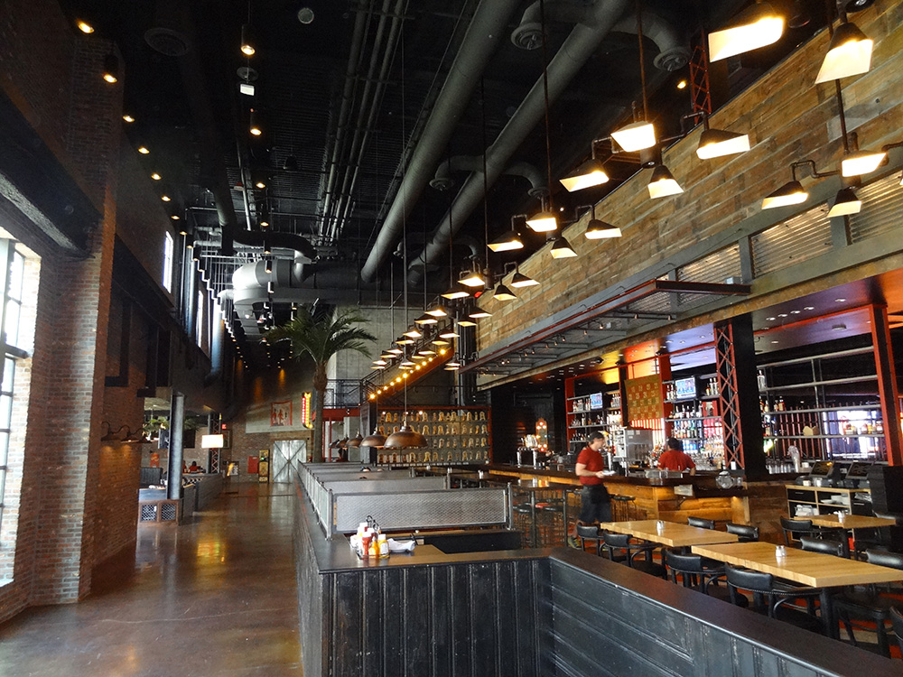 Eatery inside Brooklyn Bowl, LINQ District, Las Vegas