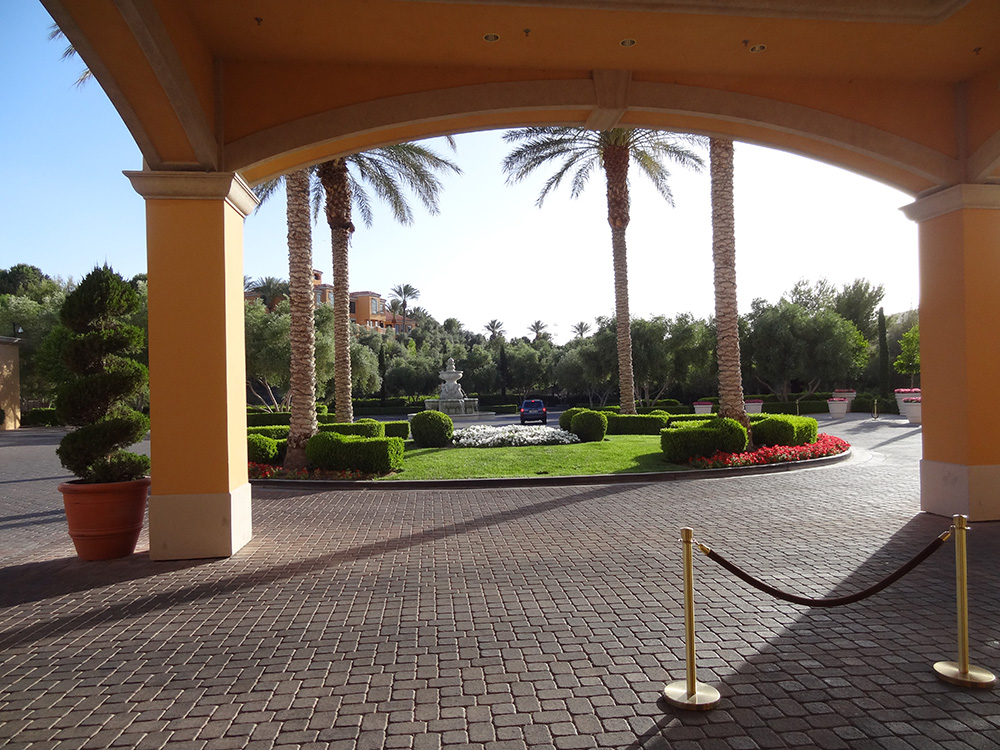 Entrance of The Westin, Lake Las Vegas