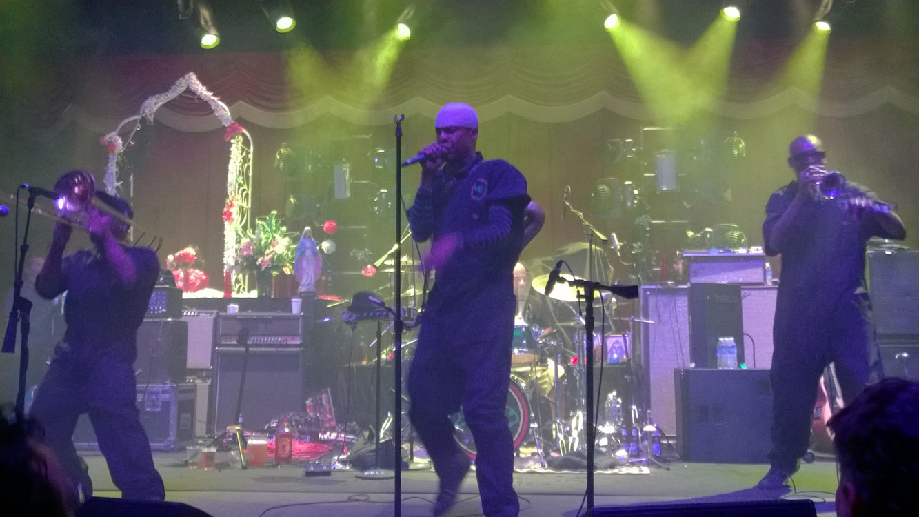 Fishbone at Brooklyn Bowl, Las Vegas, LINQ District