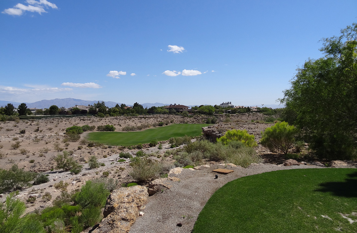 From Tee Box, Badlands Golf Course, Las Vegas