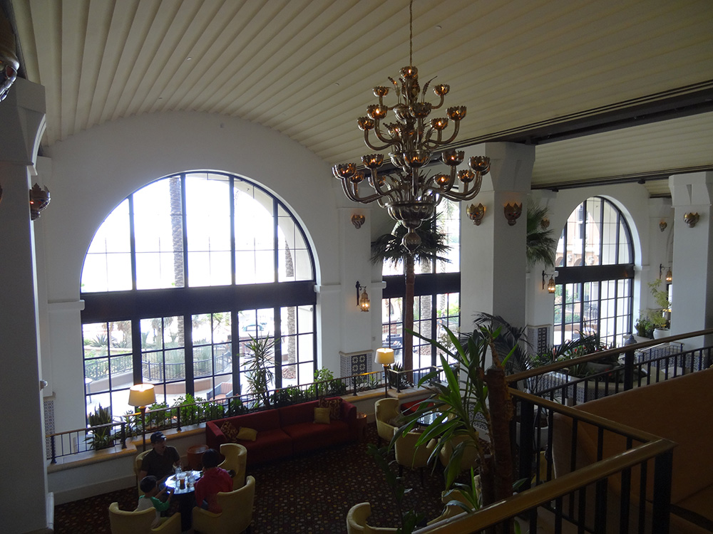 Inside the Westin, Lake Las Vegas