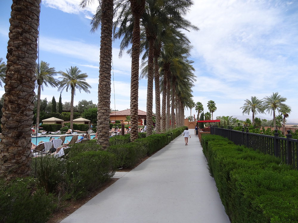 Pool Walkway, The Westin, Lake Las Vegas