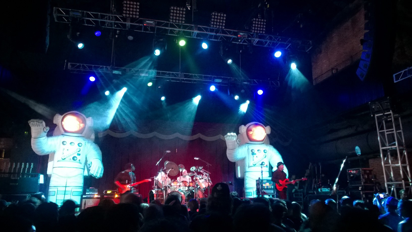 Primus Performing at Brooklyn Bowl, Las Vegas