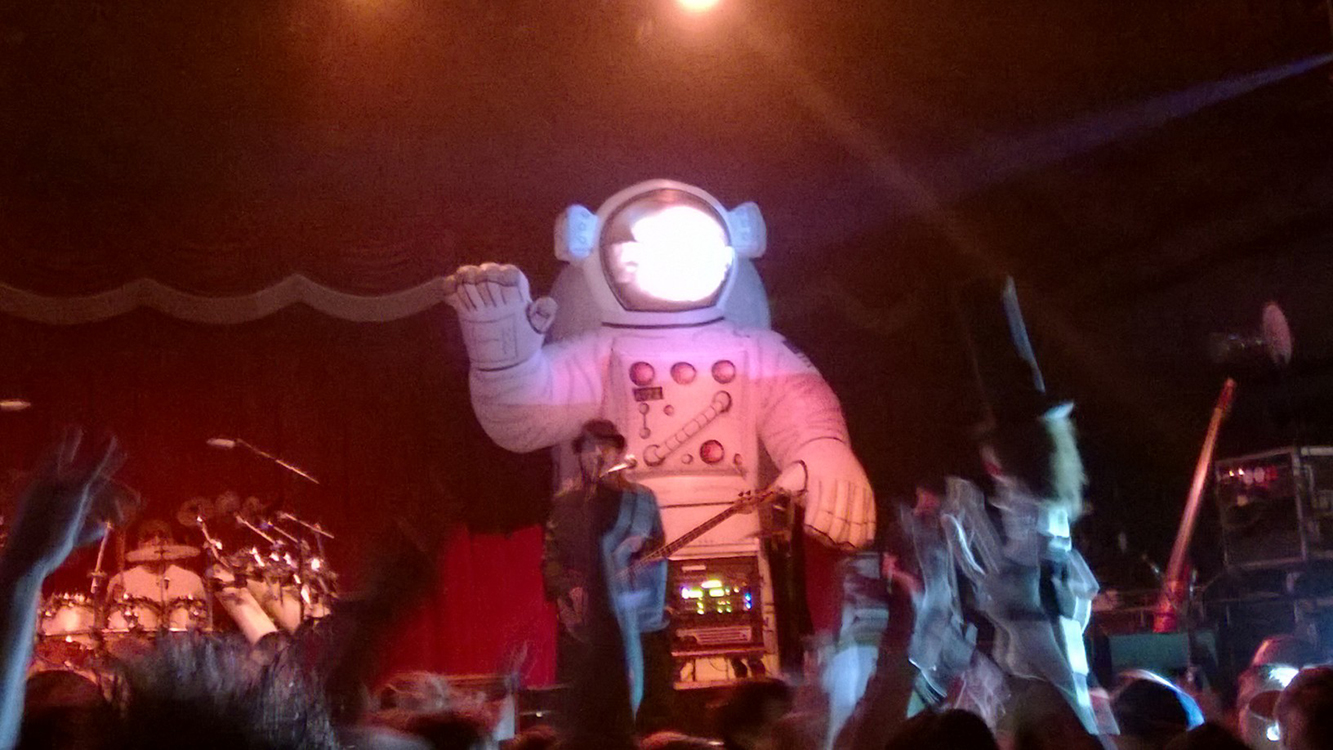 Primus at Brooklyn Bowl, Las Vegas
