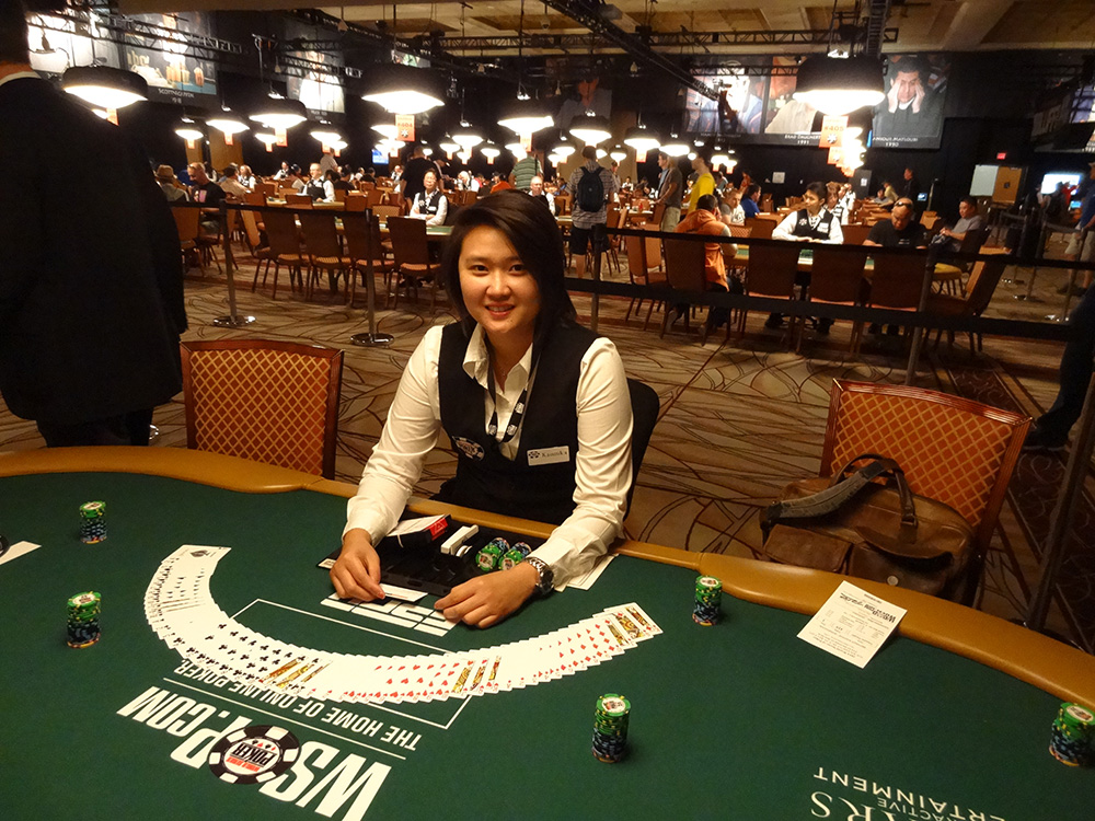 WSOP 2014, Dealer at Table Event 4, NL Holdem