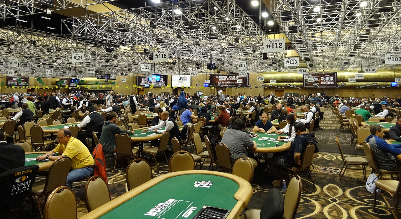 World Series of Poker 2014, Rio Las Vegas, Main Room
