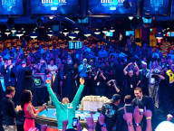Antonio Esfandiari, WSOP One Drop Winner, Photo Credit Joe Giron