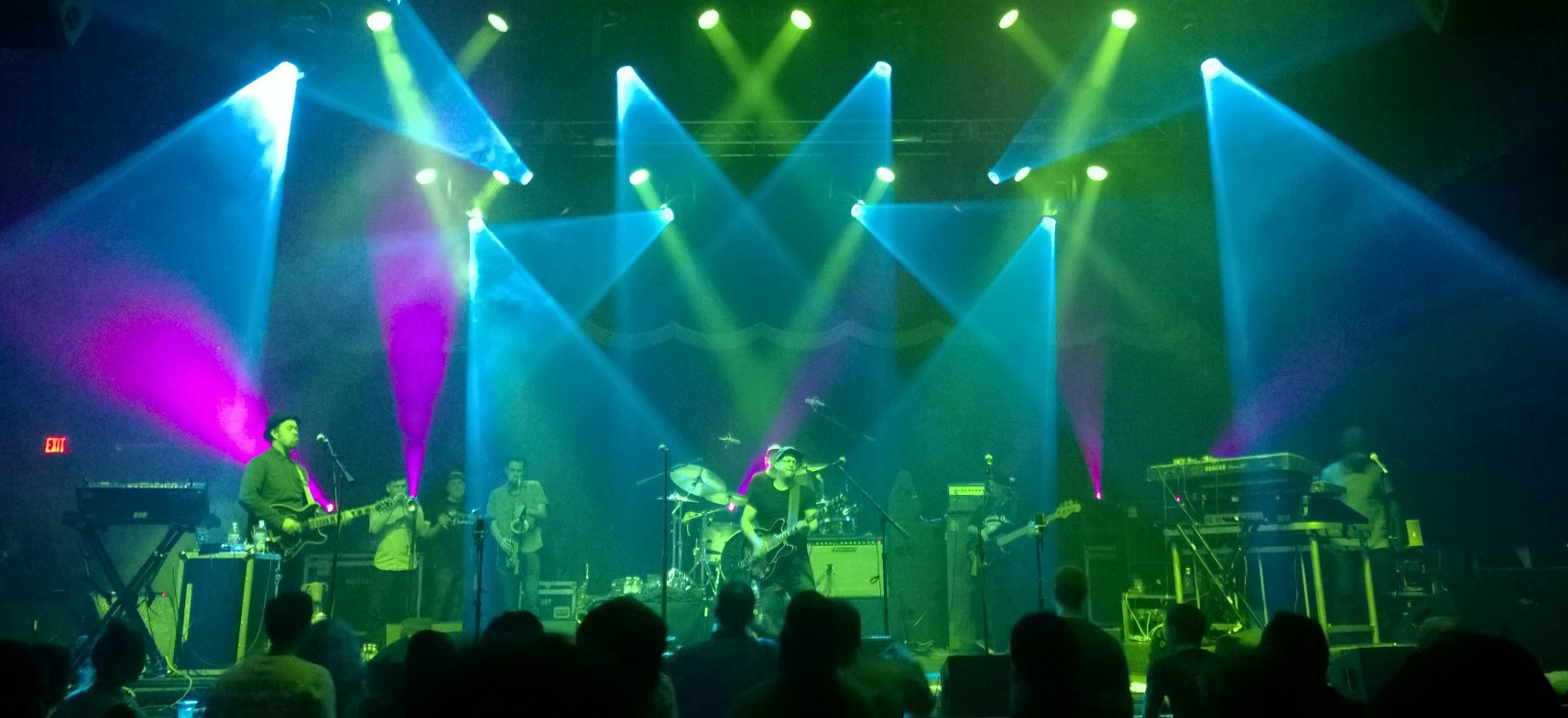 Brooklyn Bowl, Lettuce on Stage, LINQ Las Vegas