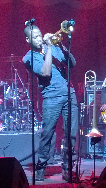 Brooklyn Bowl, Trombone Shorty, Las Vegas