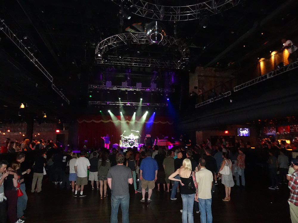 Crowd Watching Dumpstaphunk, Brooklyn Bowl, LINQ Vegas