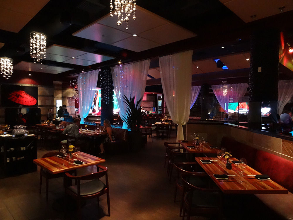 Dining at Geisha House, Steak & Sushi, Flamingo Summerlin Vegas