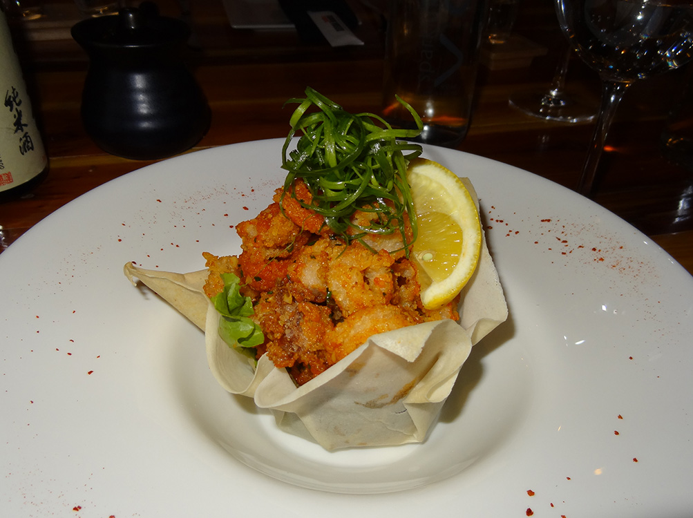 Fried Calamari-Sriracha, Geisha House Flamingo, Summerlin Vegas
