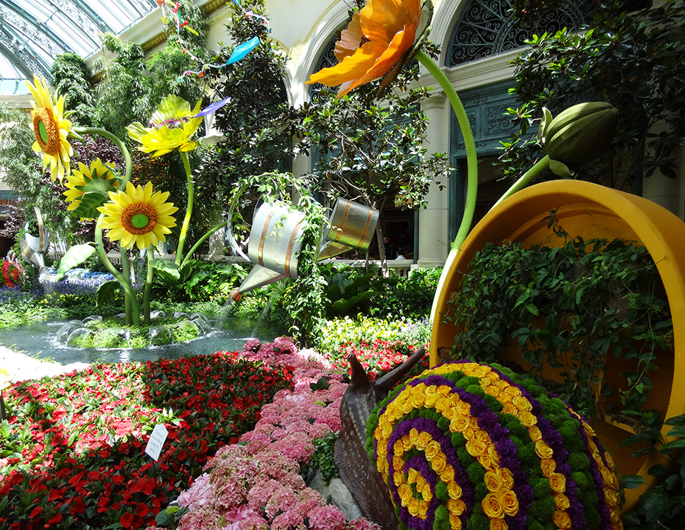 Gardens At Bellagio Conservatory, Summer Celebration 2014, Las Vegas