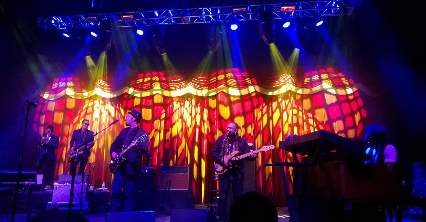 George Porter Jr with Soulive, Brooklyn Bowl, LINQ