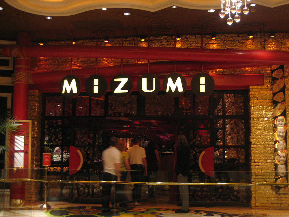 Mizumi wynn hotel las vegas top picks for Asian cuisine las vegas