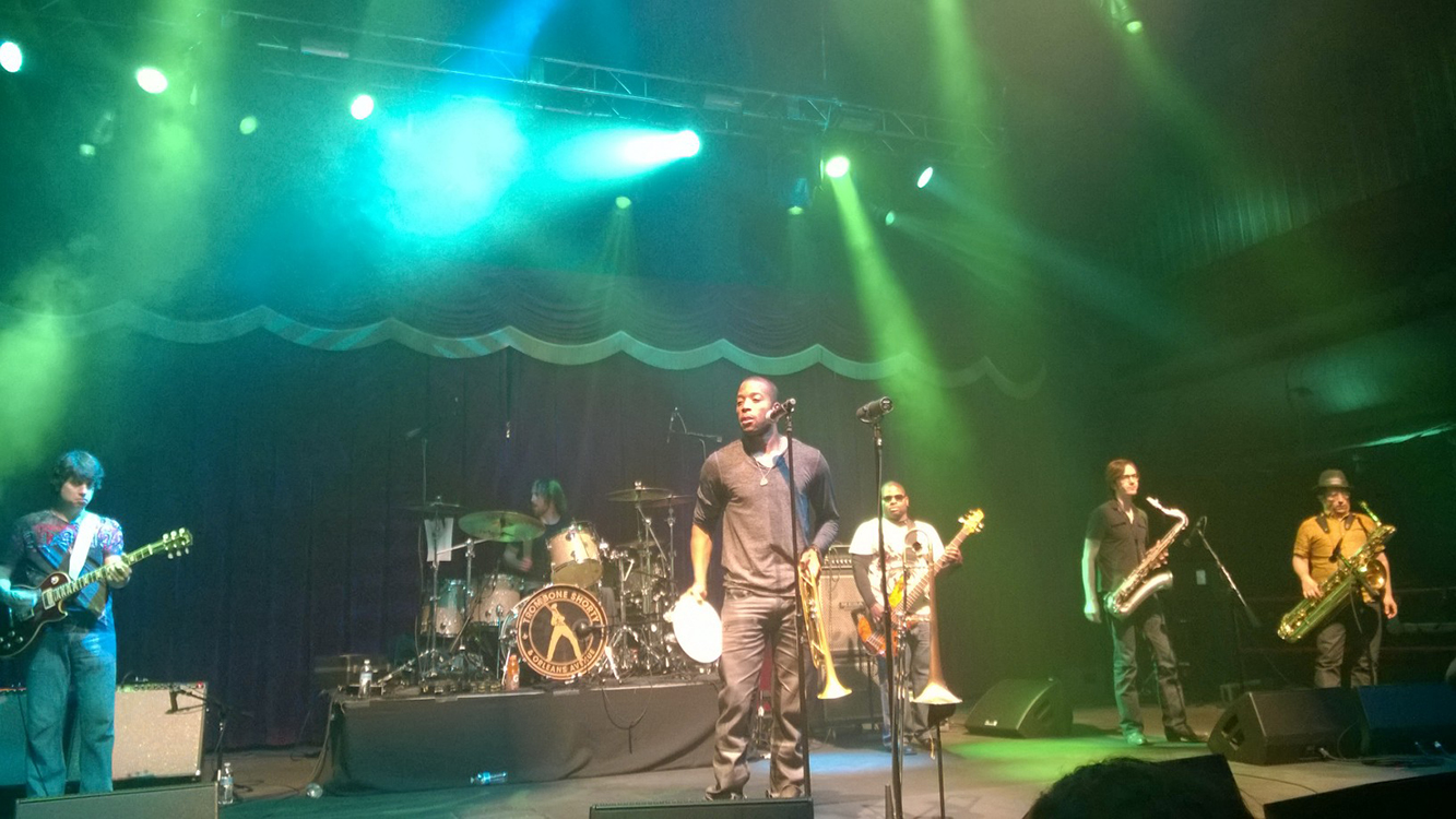 Trombone Shorty Performing at Brooklyn Bowl, LINQ Vegas