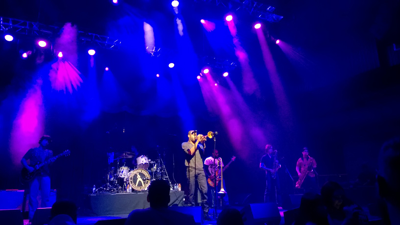 Trombone Shorty at Brooklyn Bowl, LINQ Las Vegas