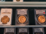 Gold at Sahara Coins, Las Vegas