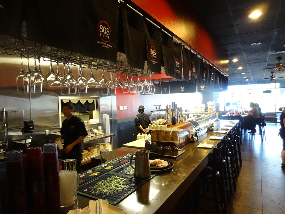 808 Tapas, Hawaiian Sushi, Summerlin Vegas