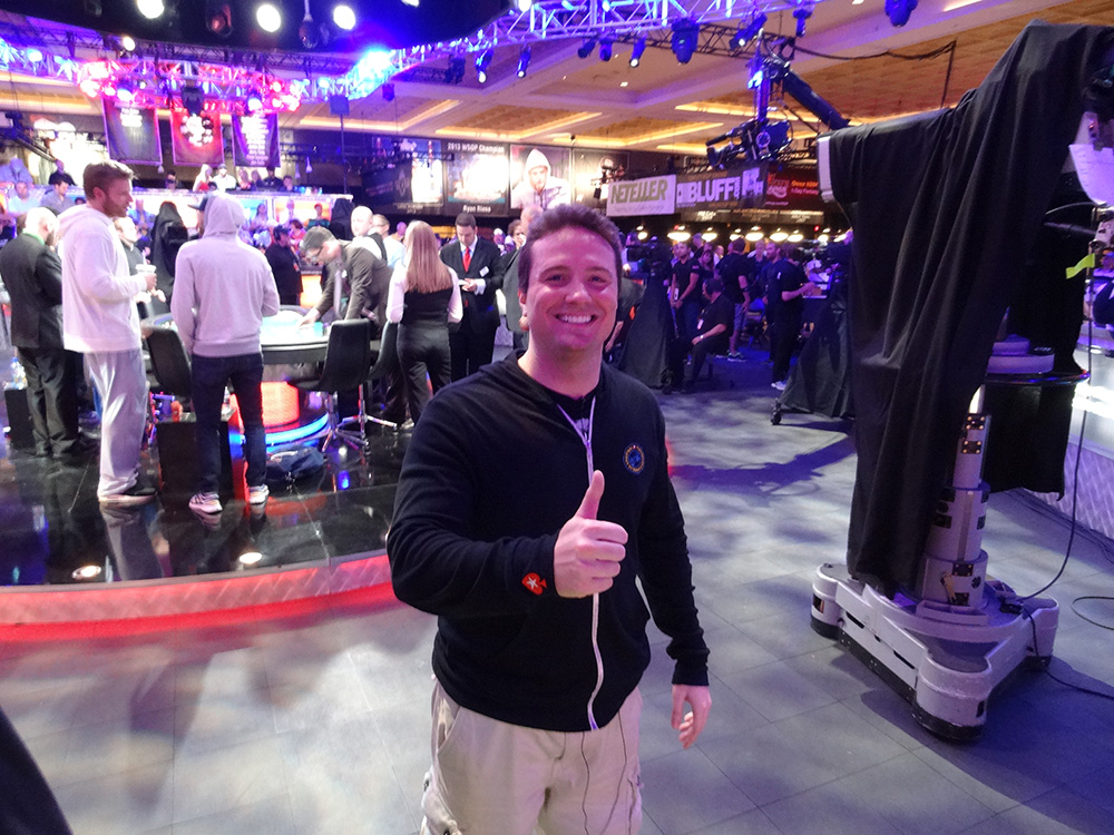 Bruno Politano Poker Player, November Nine, WSOP 2014