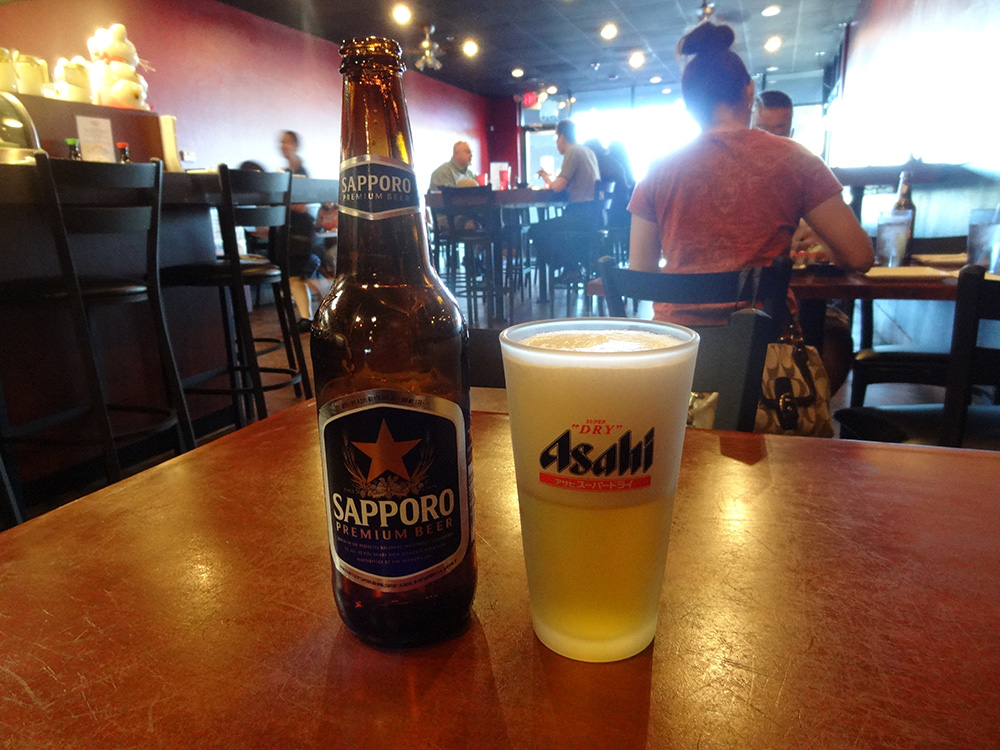 Cold Sapporo Beer, 808 Tapas, Summerlin Vegas