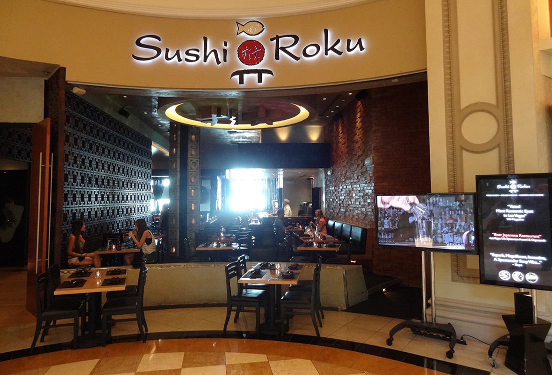 Sushi roku caesars palace las vegas top picks for Asian cuisine las vegas