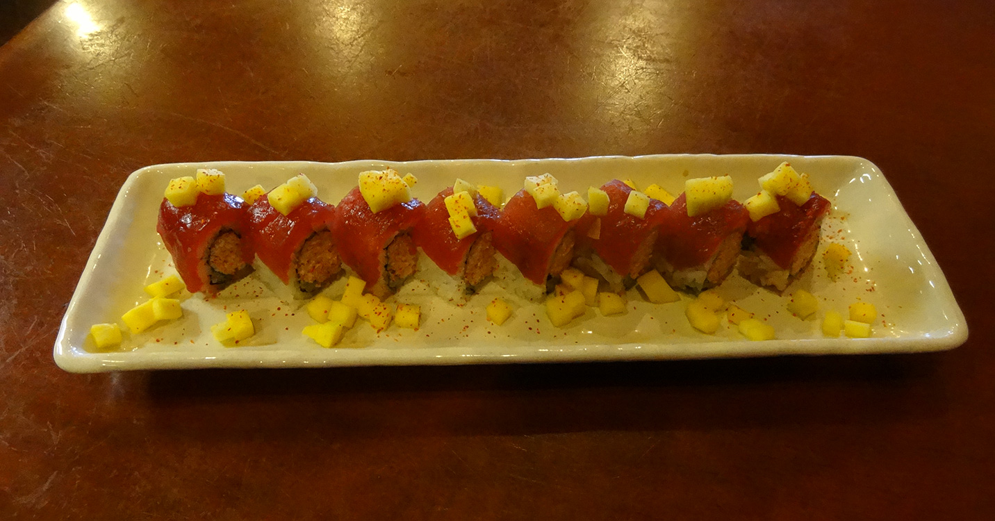 Kaiser Sushi Roll Happy Hour, 808 Tapas, Summerlin Vegas