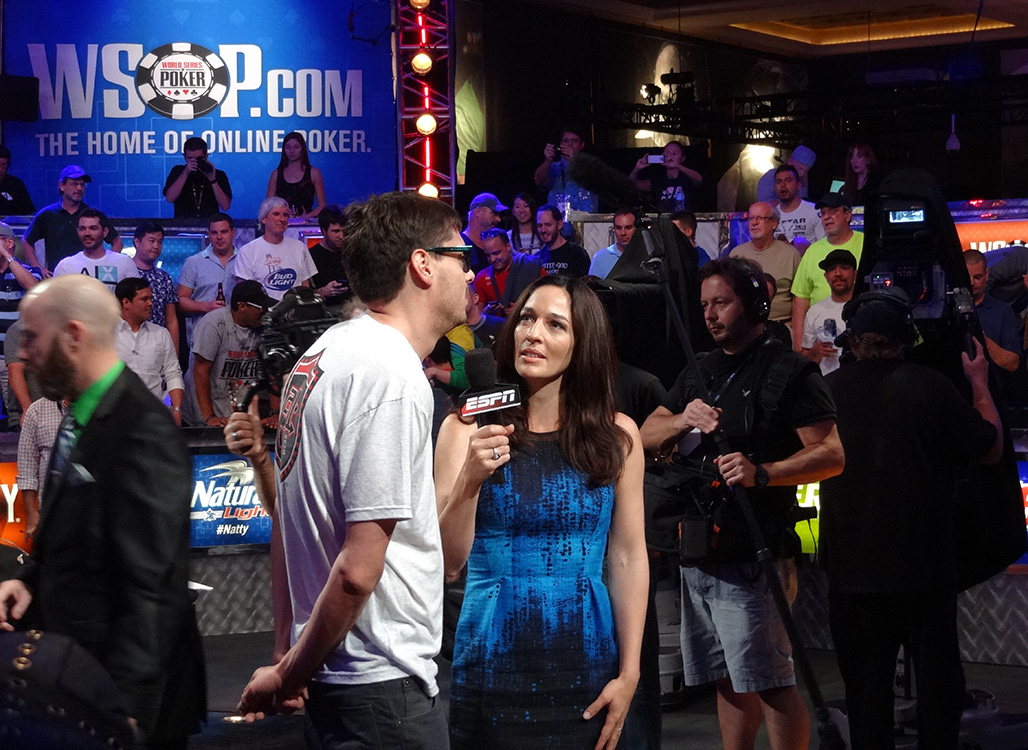 Kara Scott Interviewing Mark Newhouse, Back to Back Final Tables, WSOP 2014
