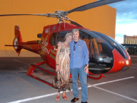 Brendan Magone and Friend, Grand Canyon Helicopters, Las Vegas
