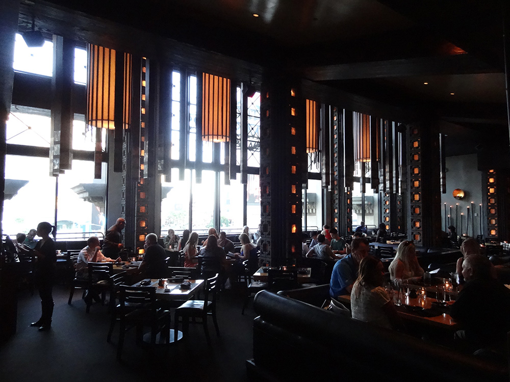 Larger Room Inside Sushi Roku, Caesars Palace