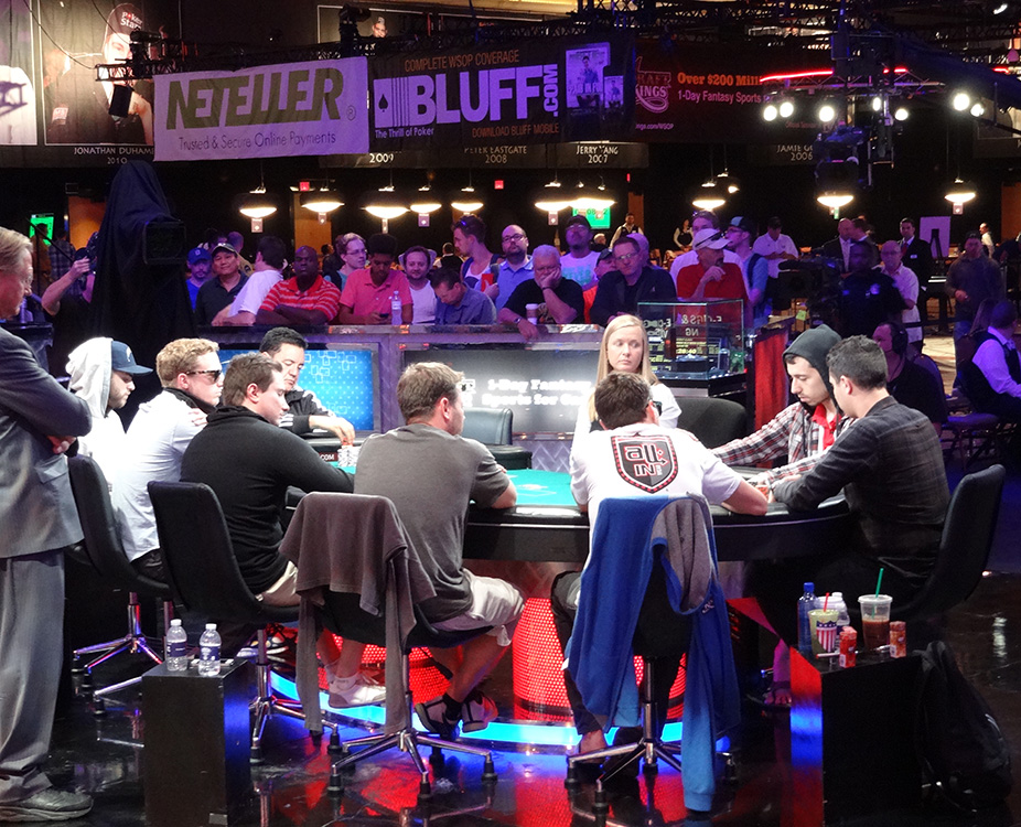 Making the November Nine, WSOP 2014, Las Vegas