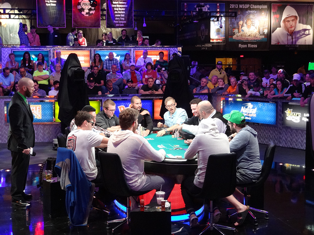 Making the November Nine, WSOP 2014, Rio Las Vegas