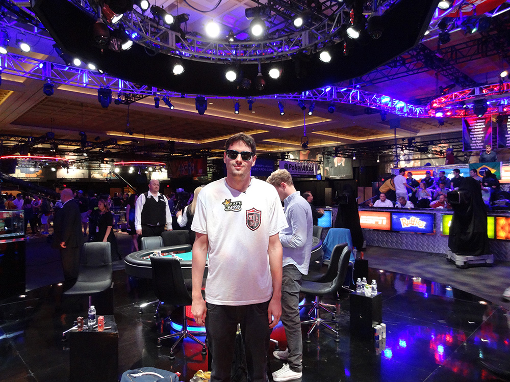 Mark Newhouse, November Nine, WSOP 2014