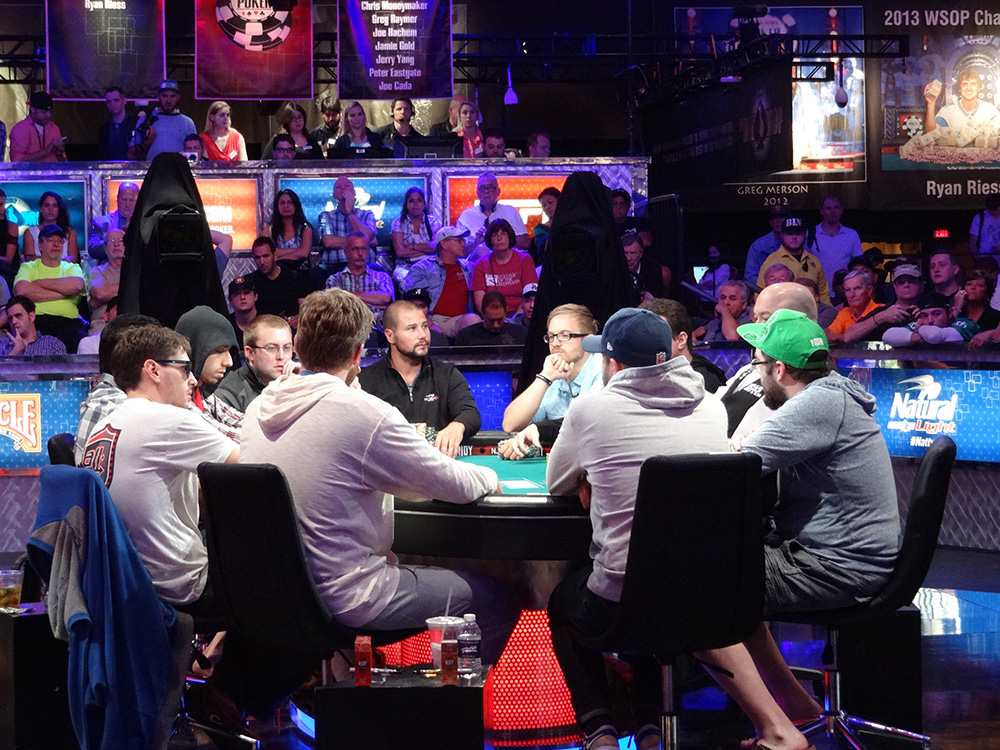 November Ten into November Nine, WSOP 2014, Rio Las Vegas