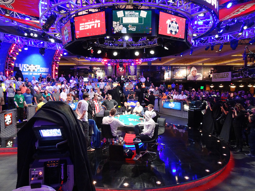 November Ten to November Nine, WSOP 2014, Las Vegas Rio Hotel