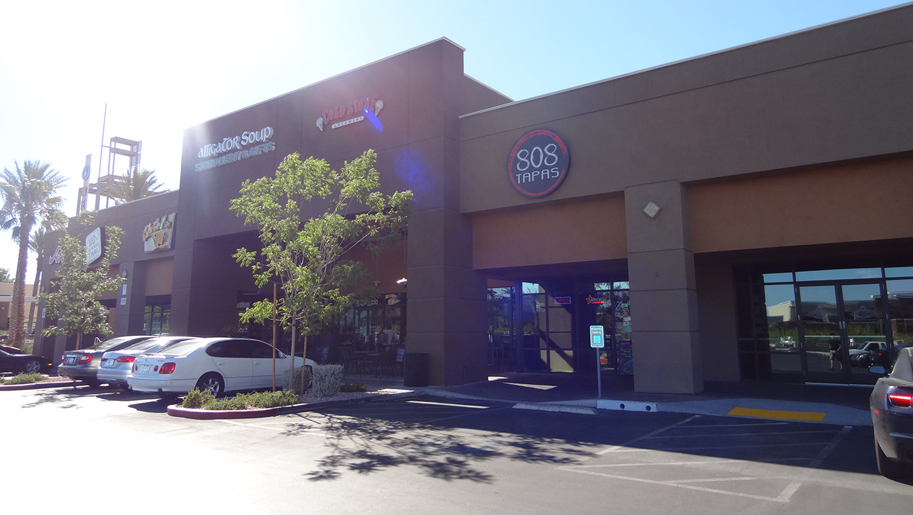 Outside Entrance, 808 Tapas, Sushi in Summerlin Vegas
