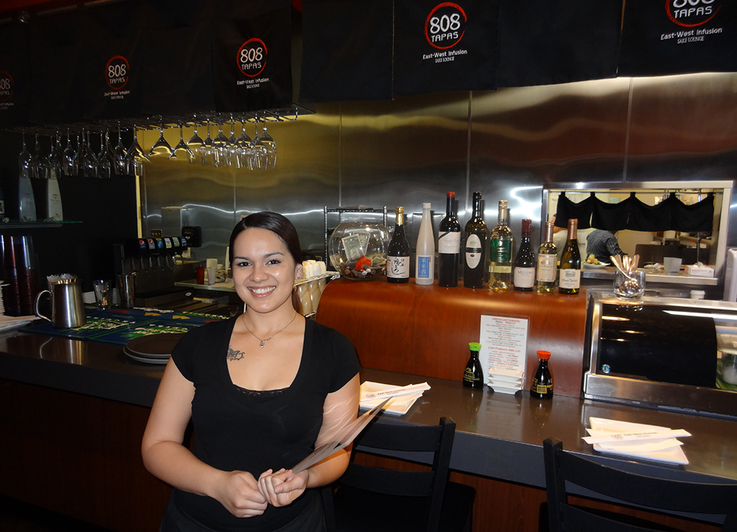 Lovely Staff at 808 Tapas, Sushi in Regal Village Square, Summerlin Vegas