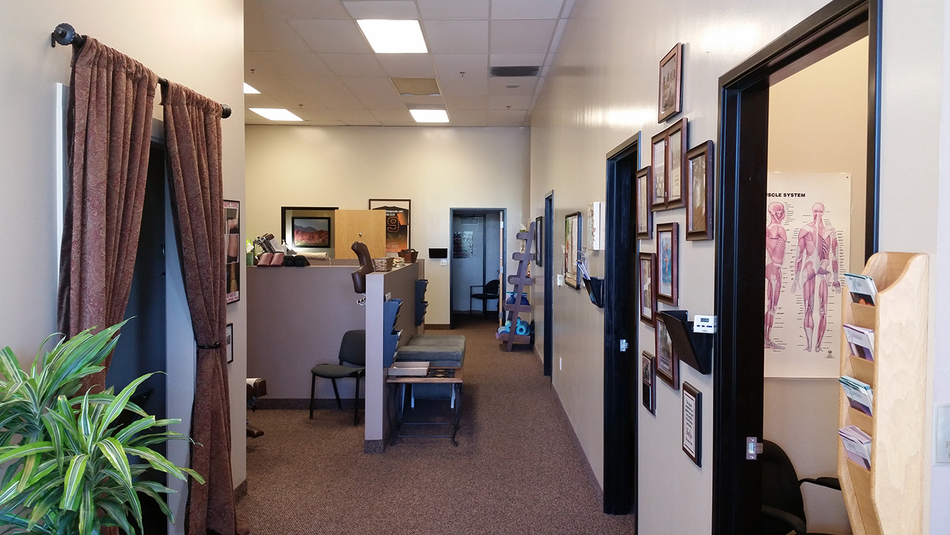 Treatment Area, Living Well Chiropractic, Summerlin Vegas