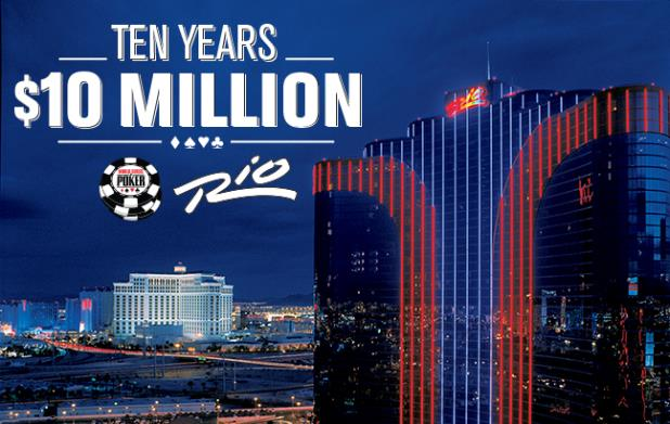 WSOP 2014, Ten Years, Ten Million