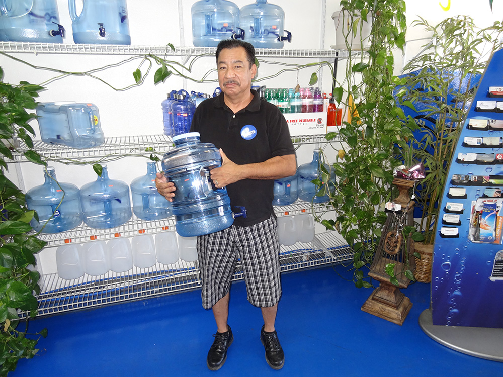 Armando at Red Rock Springs Water, Alkaline Water, Summerlin Las Vegas